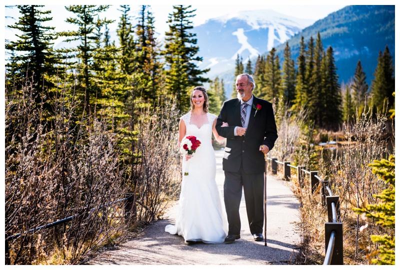 Kananaskis Wedding Ceremony - Mount Loretta Ponds