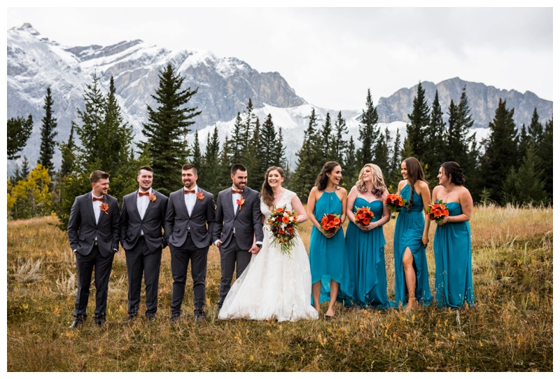 Middle Lake Wedding Ceremony Canmore Alberta