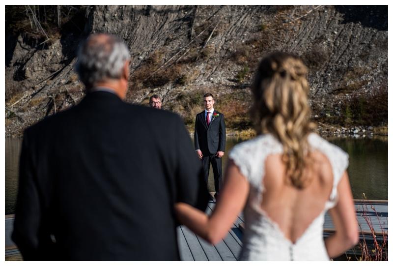 Mountain Wedding Ceremony - Mount Loretta Ponds