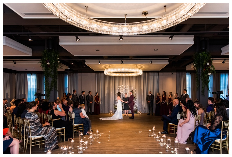 The Hudson Calgary Wedding Ceremony