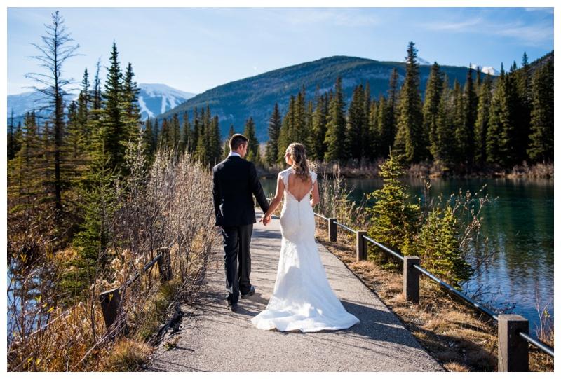 Wedding Photography - Mount Loretta Ponds Kananaskis