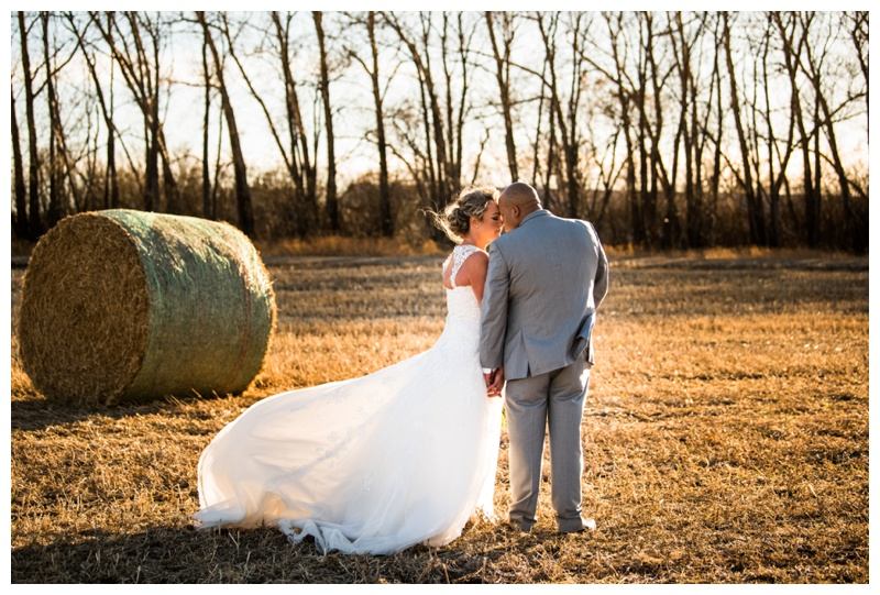 Autumn Farm Wedding - Willow Lane Barn