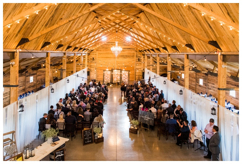 Barn Wedding Ceremony - Willow Lane Barn