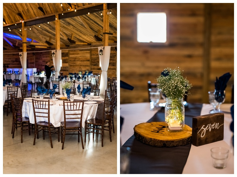 Barn Wedding Reception - Willow Lane Barn