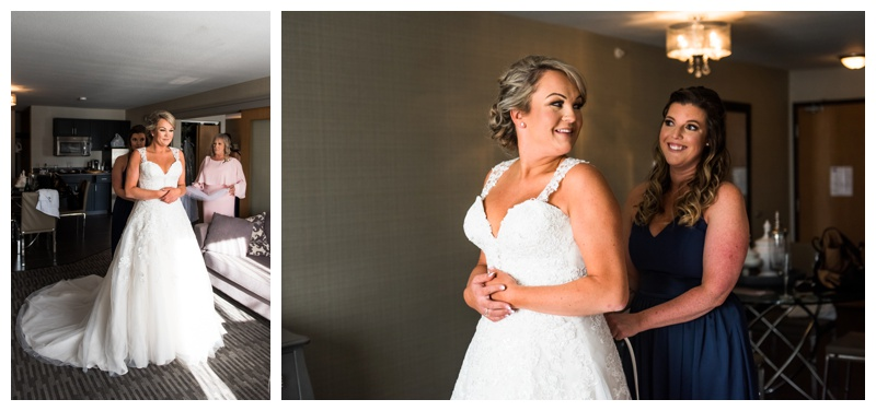 Bridal Prep Wedding Photography - Willow Lane Barn
