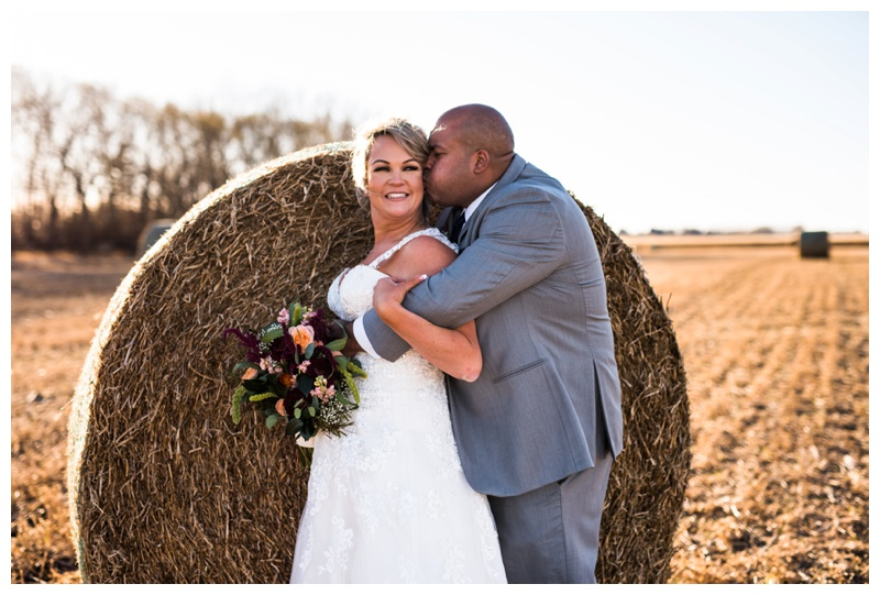 Bride & Groom Portraits - Farm Wedding Willow Lane Barn