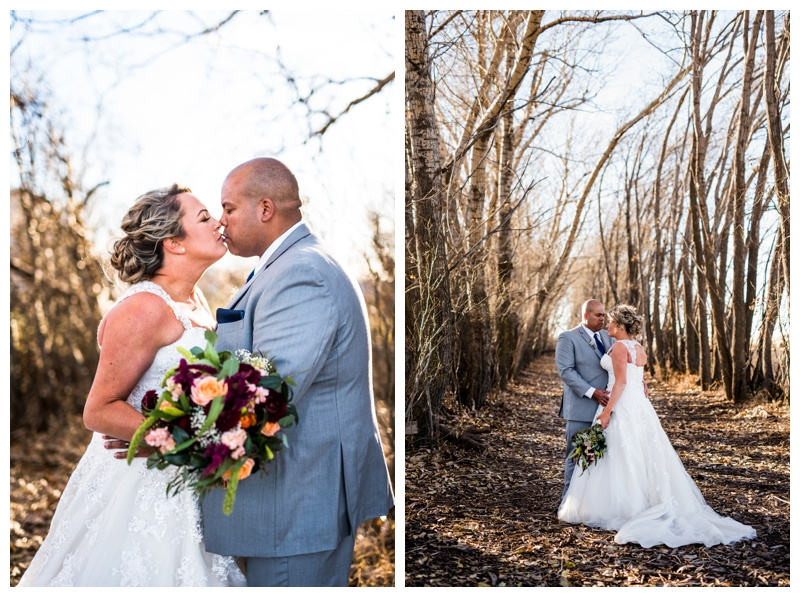 Bride & Groom Portraits - Willow Lane Barn