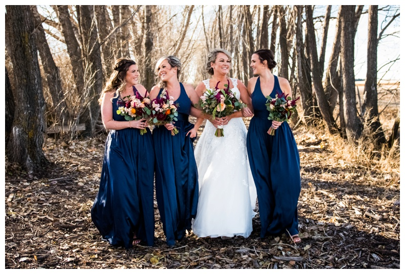 Bridesmaid Wedding Photos - Willow Lane Barn
