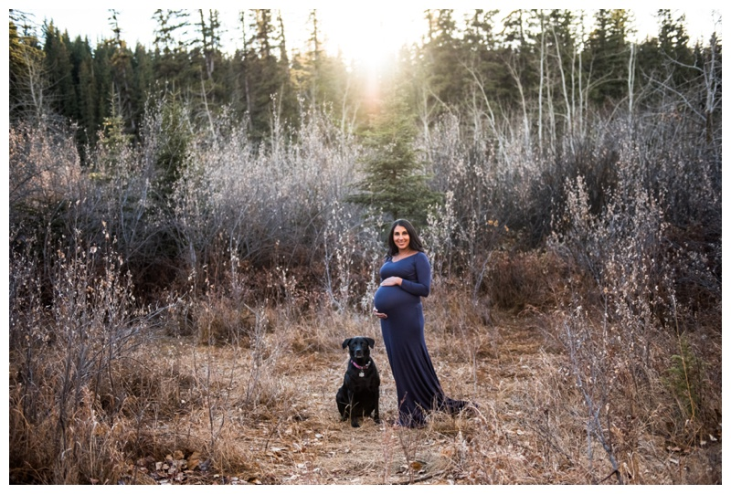 Calgary Fish Creek Park Maternity Photography