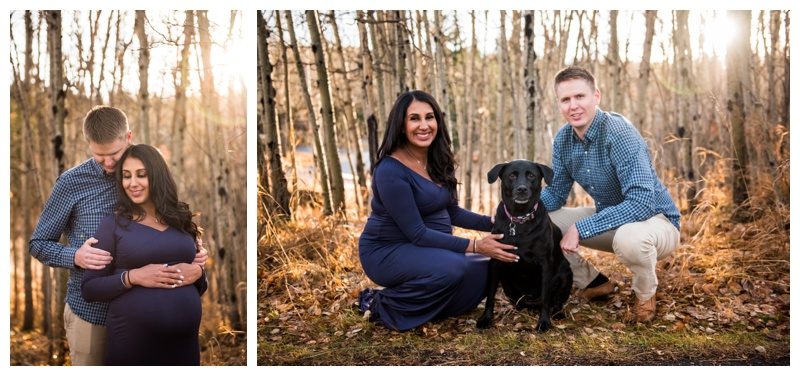 Calgary Photographer - Maternity Photos Fish Creek Park
