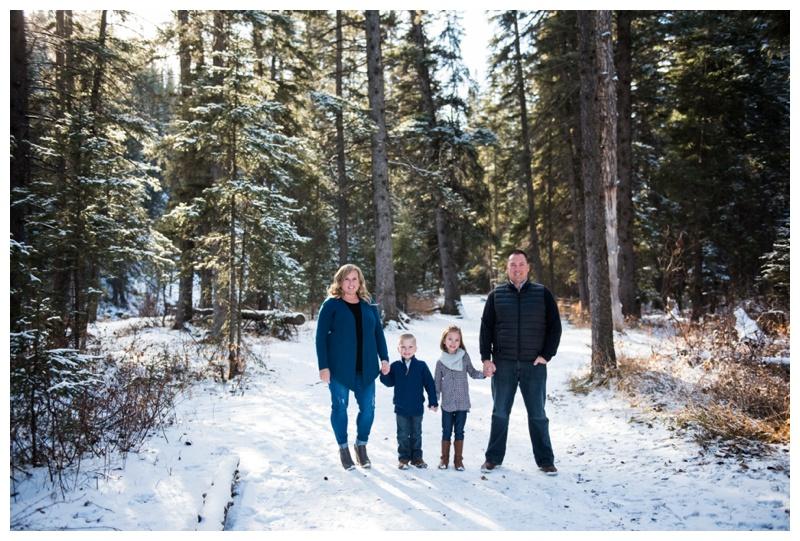 Calgary Winter Family Photos