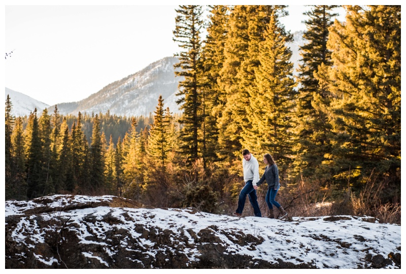 Engagement Photographers Canmore Alberta