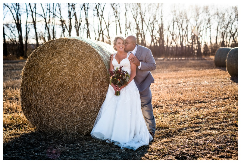 Fall Farm Wedding - Willow Lane Barn