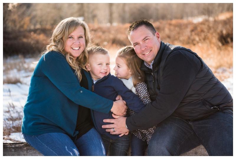 Calgary Winter Family session