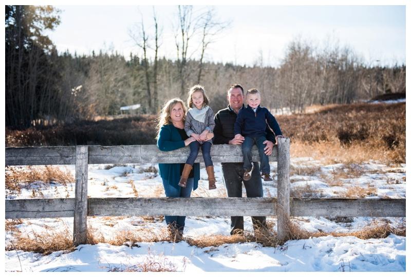 Family Photos Calgary - Winter Family Photography