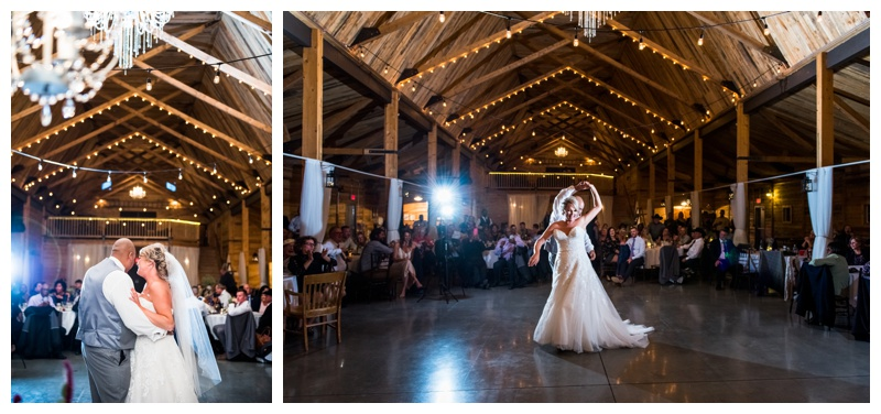 First Dance Wedding Photography Willow Lane Barn