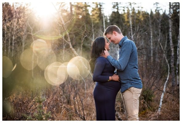 Calgary Fall Maternity Session | Tyler & Harleen | Calgary Maternity Photographer