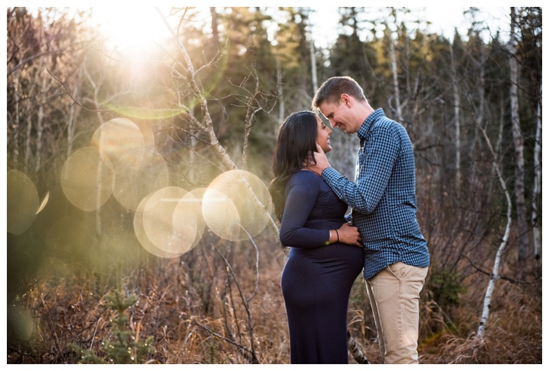 Fish Creek Park Maternity Photography Calgary