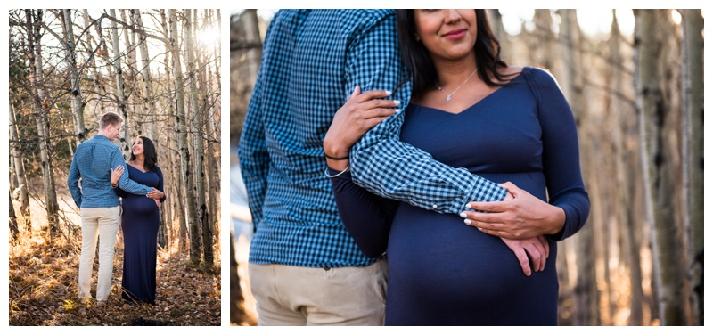 Fish Creek park Maternity Photos Calgary