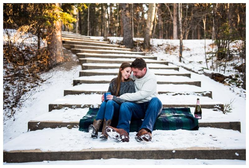 Kananaskis Engagement Photos - Canmore Engagement Photographer