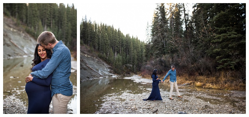 Maternity Photos Calagry - Fish Creek Park