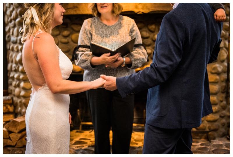 River Cafe Intimate Elopement - Calgary Wedding Photographer