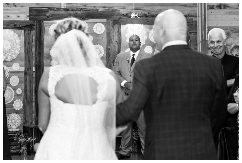 Wedding Ceremony Photography Willow Lane Barn