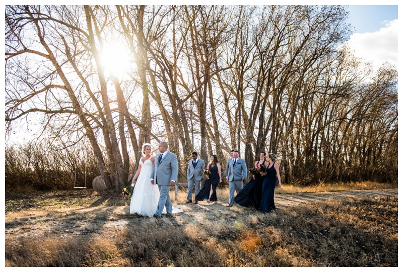 Wedding Party Photography - Olds Wedding Photography