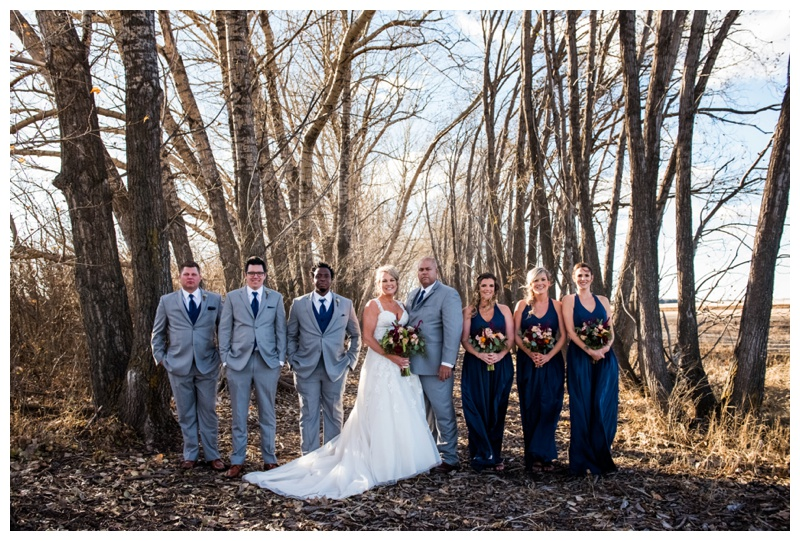 Wedding Party Photography Willow Lane Barn