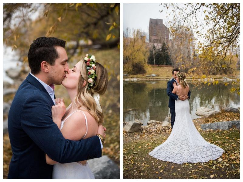 Wedding Photos Calgary - River Cafe Calgary