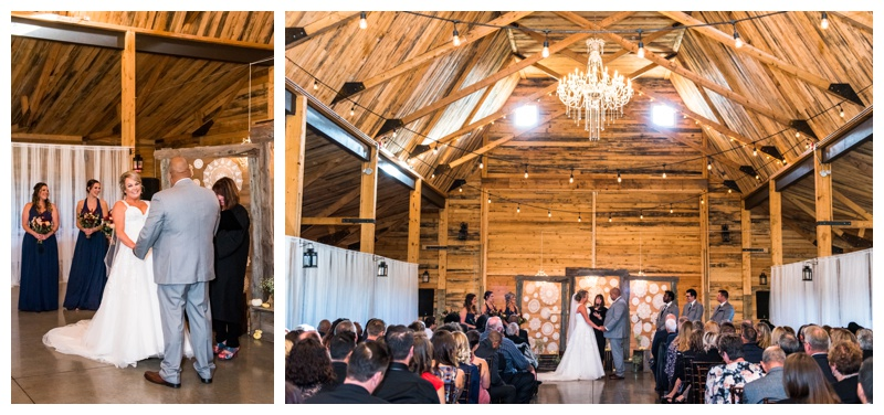 Willow Lane Barn - Wedding Ceremony Photography