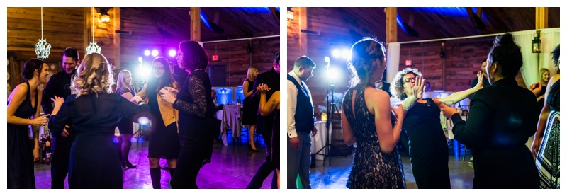 Willow Lane Barn Wedding Reception - Olds Alberta