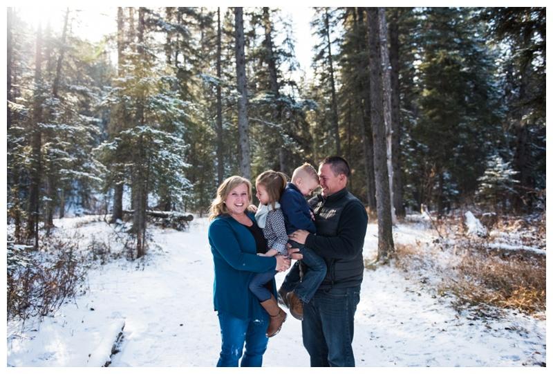 Winter Family Photos Calgary
