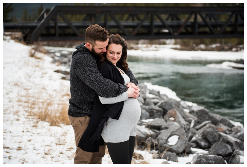 Alberta Rocky Mountain Maternity Photography