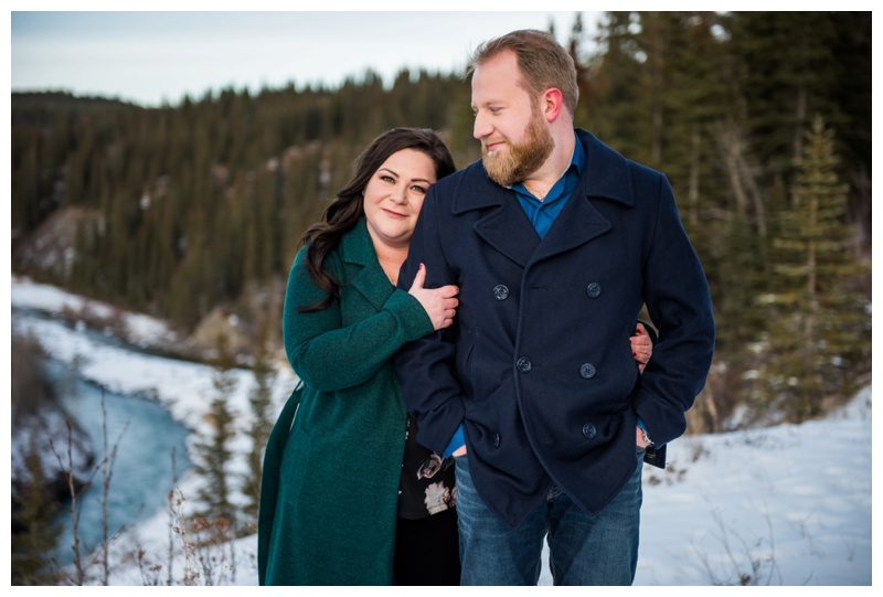 Barrier Lake Engagement Session