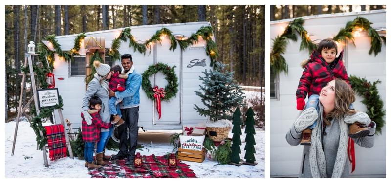 Calgary Winter Christmas Mini Sesisons