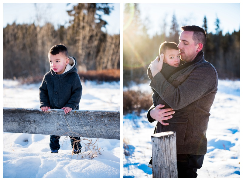 Calgary Winter Family Photos