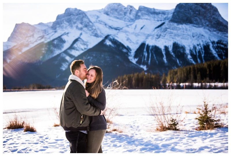 Canmore Marriage Proposal Photography