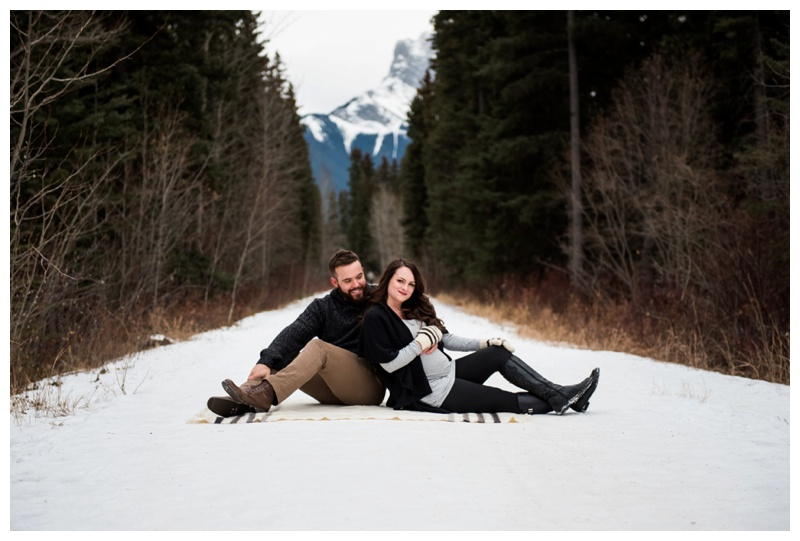 Canmore Rocky Mountain Maternity Photography