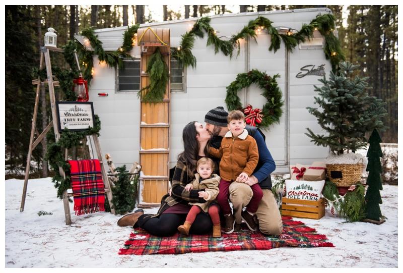 Christmas mini Sessions Calgary