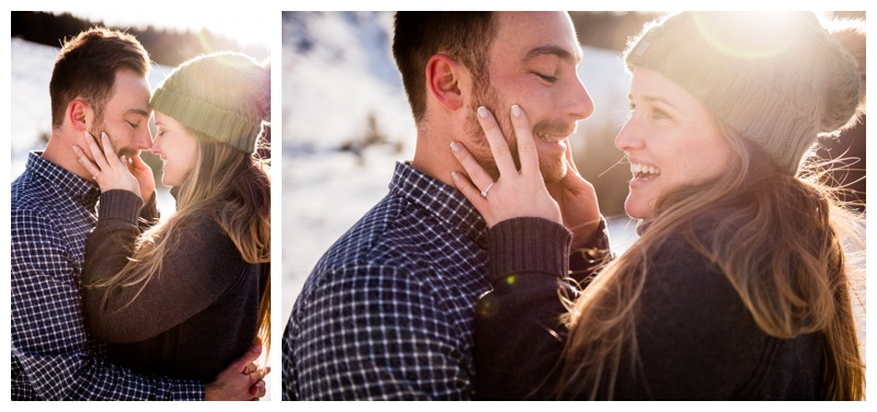 Engagement Photography canmore Alberta