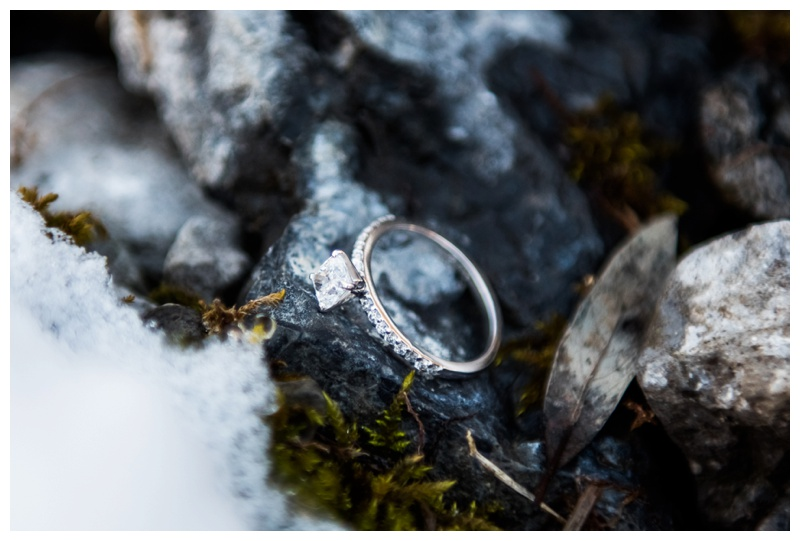 Engagement Ring Photography Canmore