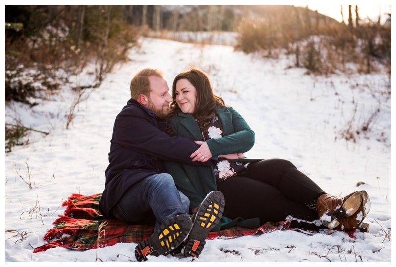 Kananaskis Engagement Photographer - Canmore