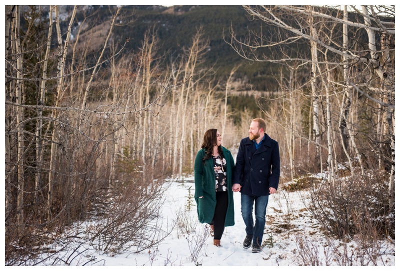 Kananaskis Engagement Session - Barrier Lake