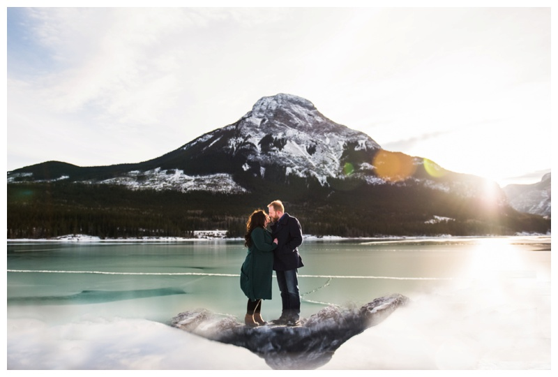 Rocky Mountain Engagement Photography - Barrier Lake