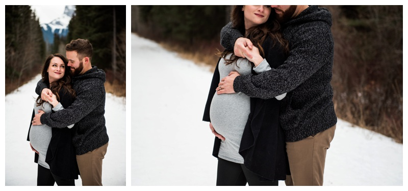 Rocky Mountain Maternity Photography Canmroe Alberta