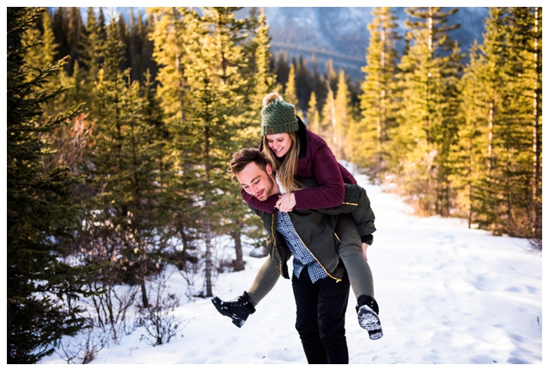 Wedding Proposal Photographers Canmore