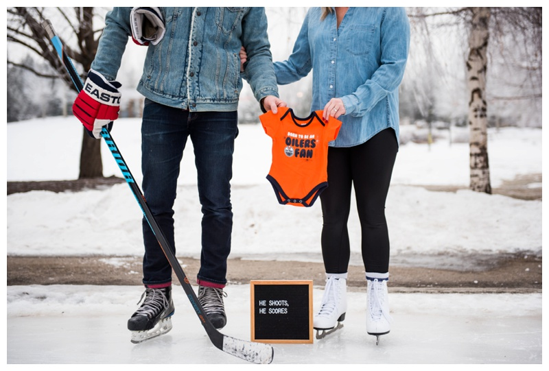 Calgary Baby Announcement Photography