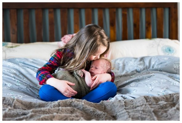 Calgary Alberta In Home Newborn Session | Baby Patrick | Calgary Newborn Photographer