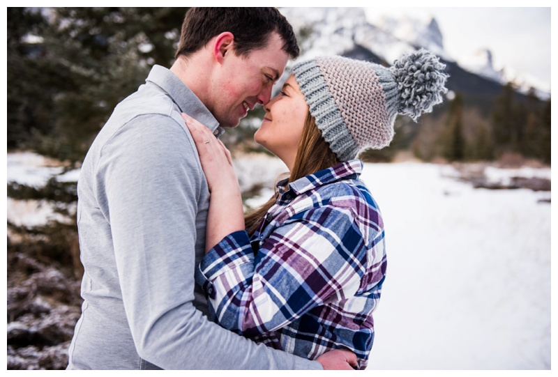 Canmore Wedding Proposal Photography Session